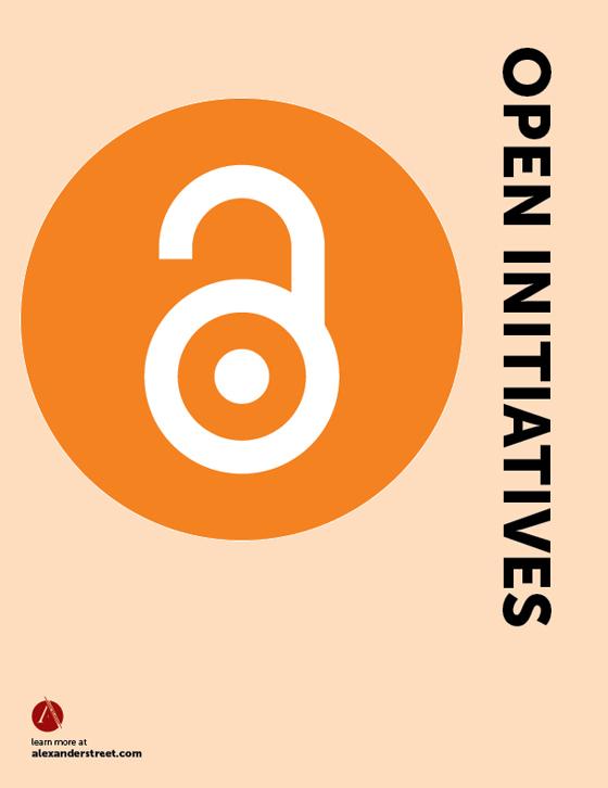 Open Initiatives