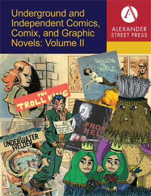 Underground and Independent Comics, Comix, and Graphic Novels: Volume II database cover.