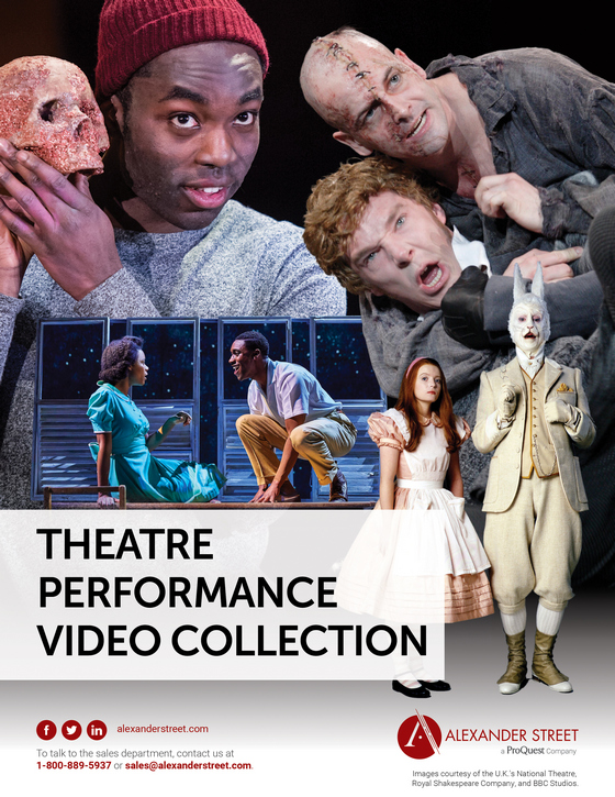 Theatre Performance Video Collection Cover Image