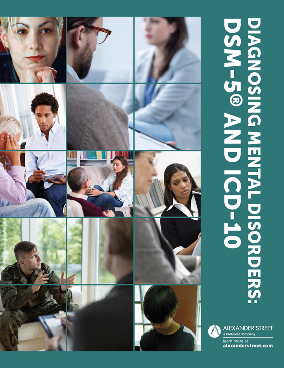 Diagnosing Mental Disorders: DSM-5 and ICD-10