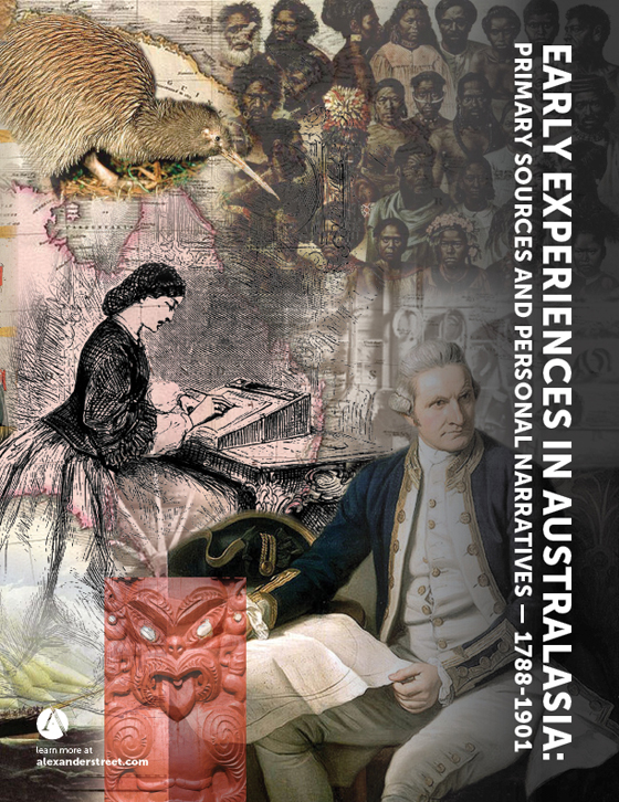 Early Experiences in Australasia: Primary Sources and Personal Narratives 1788-1901