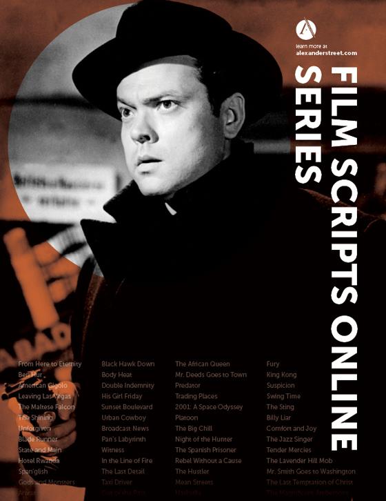Film Scripts Online Series