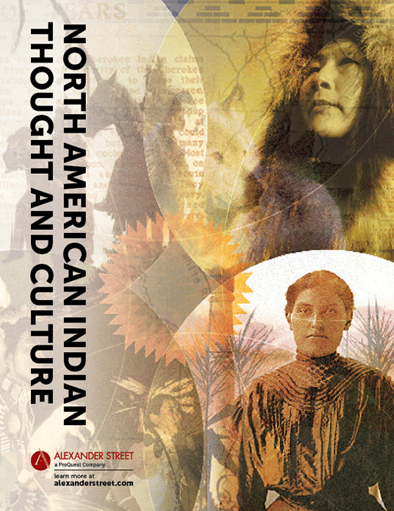 North American Indian Thought And Culture Alexander Street