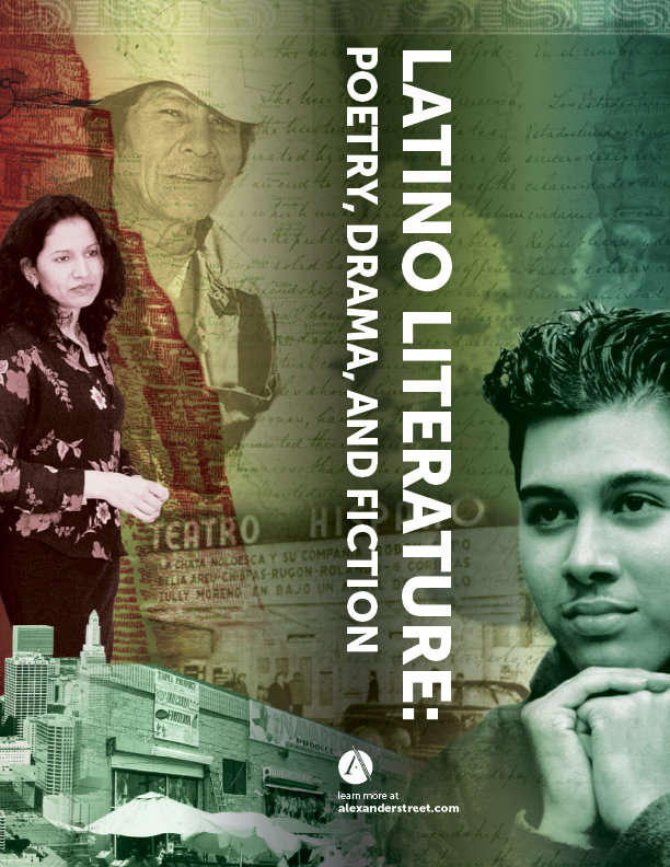 Latino Literature: Poetry, Drama, and Fiction