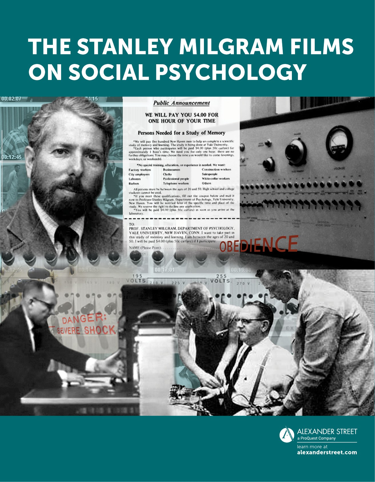 Stanley Milgram Films on Social Psychology