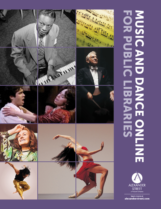 Music & Dance Online for Public Libraries