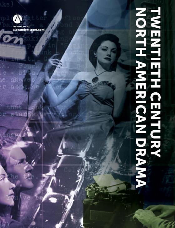 Twentieth Century North American Drama