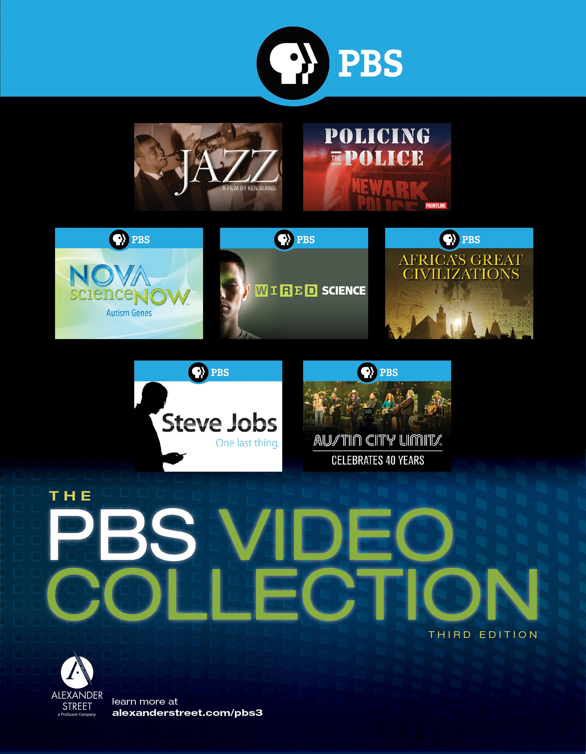 PBS Video Collection: Third Edition