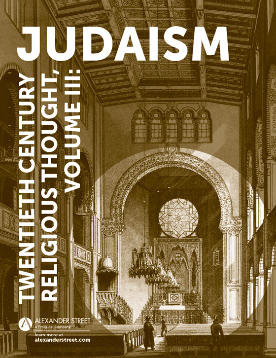 Twentieth Century Religious Thought, Volume III: Judaism
