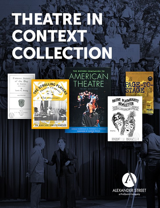 Theatre in Context Collection