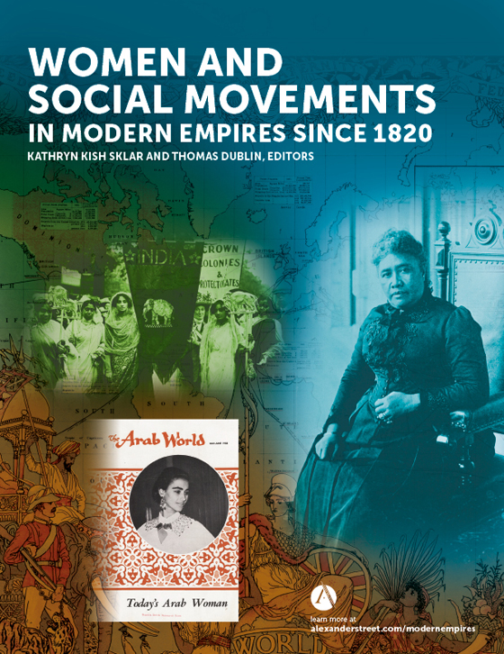 women and social movements in modern empires since 1820 alexander
