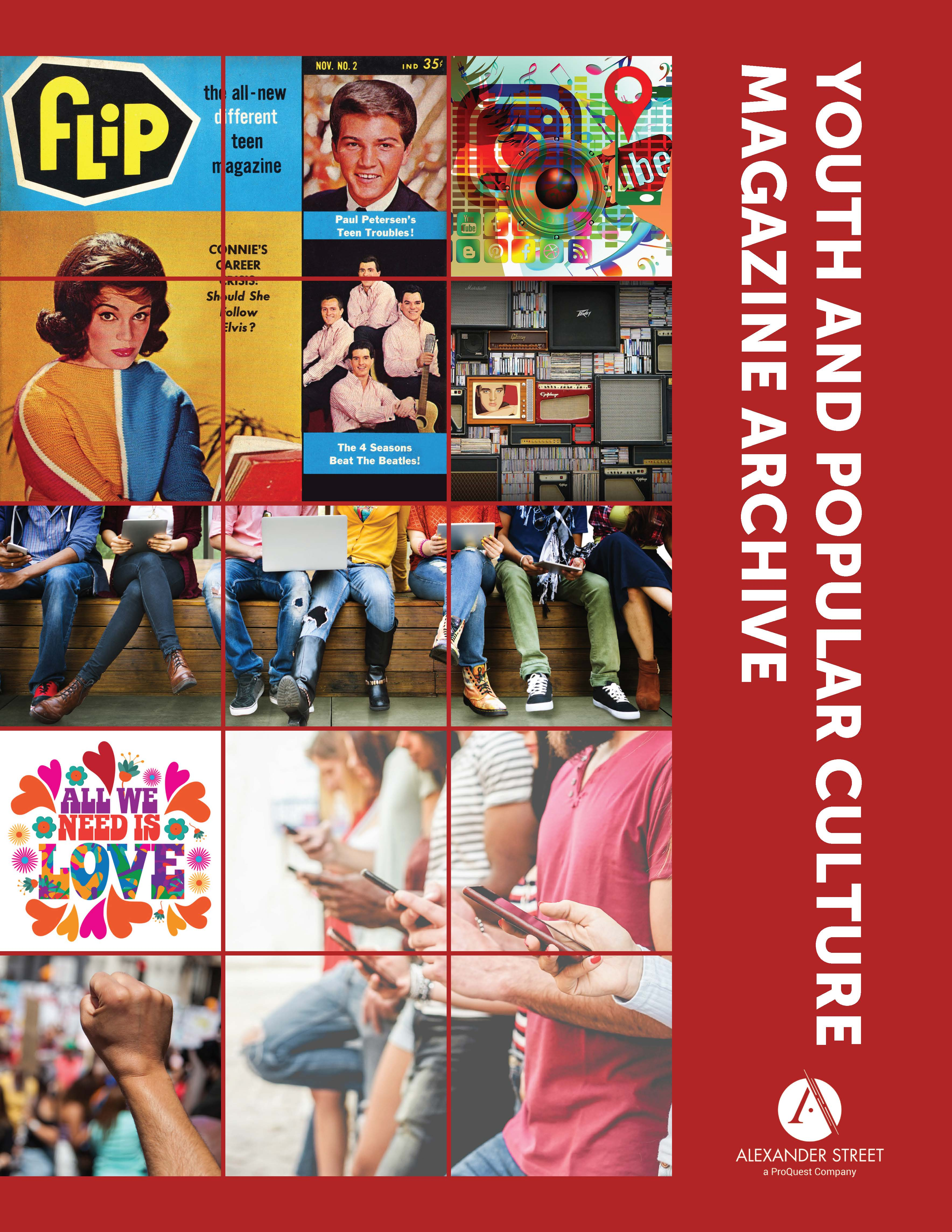 Youth and Popular Culture Magazine Archive Cover