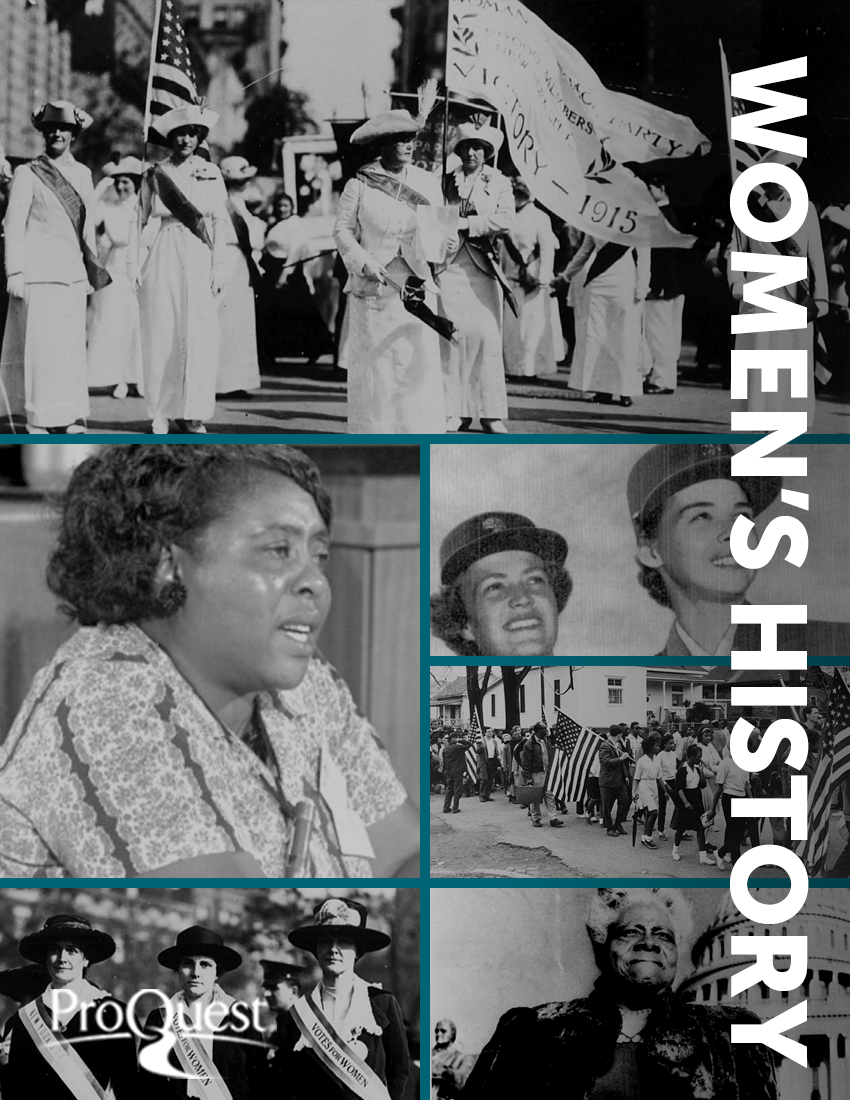 ProQuest Women's History Collections